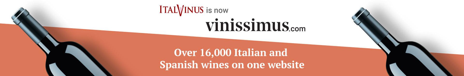 Italvinus is now Vinissimus.com