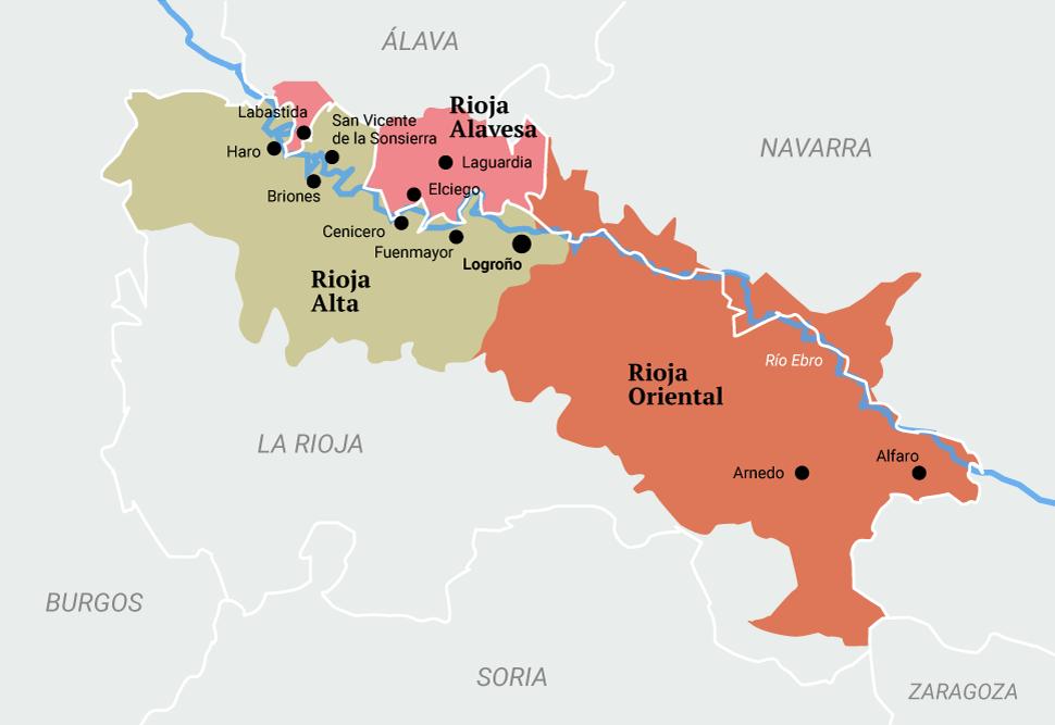 Rioja Karte