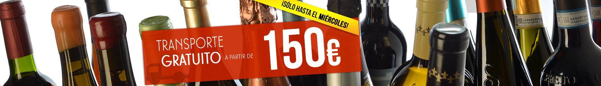 TRANSPORTE GRATUITO 150