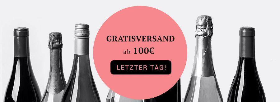 GRATISVERSAND ab einem Bestellwert von 100 EUR. LETZTER TAG!