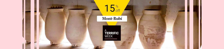 15% off Bodega Heretat Mont-Rubí
