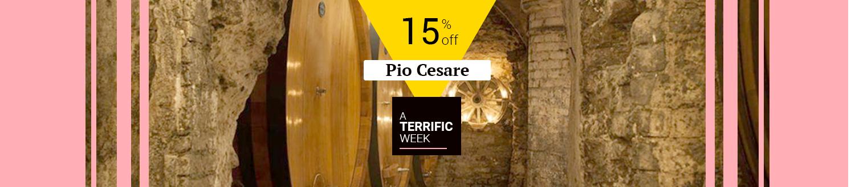 Pio Cesare 15% off