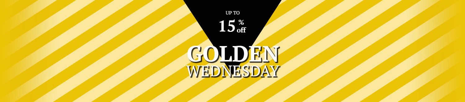 GOLDEN WEDNESDAY! Up to 15% off sparkling wines