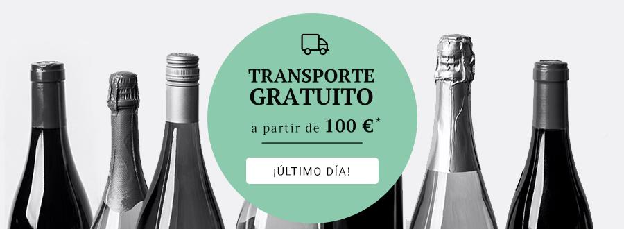 TRANSPORTE GRATIS a partir de 100 EUR ¡Último día!