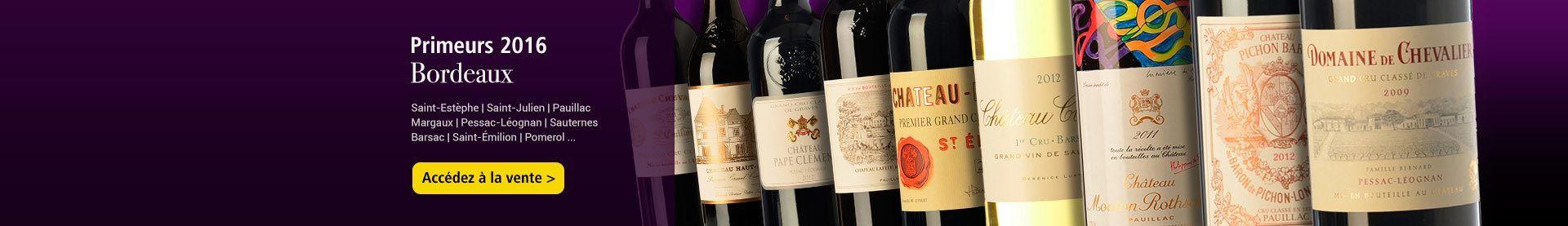 Primeurs 2016 Bordeaux