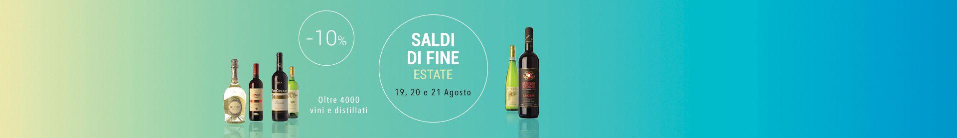 SALDI DI FINE ESTATE!