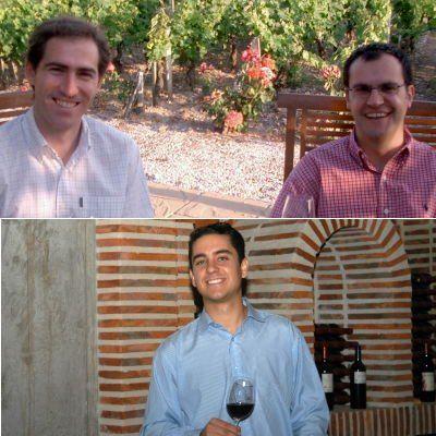 Álvaro Camarero y Javier Fernández (arriba) y Adolfo González Lázaro