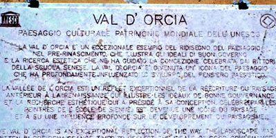 Val d'Orcia, Patrimonio dell'Umanità UNESCO