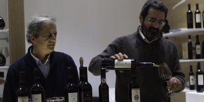 Maurizio Bisconte, voce di Saracena, in degustazione