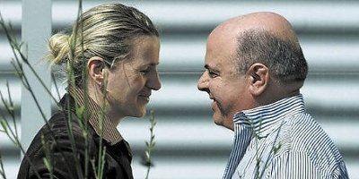 Marina Cvetic e Gianni Masciarelli