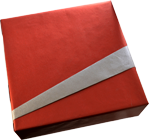 Example of gift wrapping