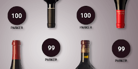 Highly scored wines by Robert Parker