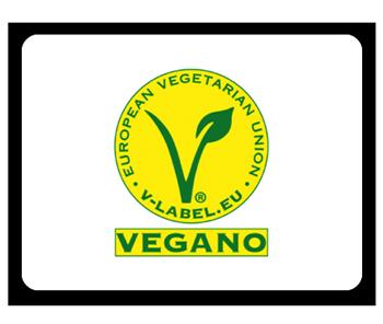 Vino vegano etiqueta