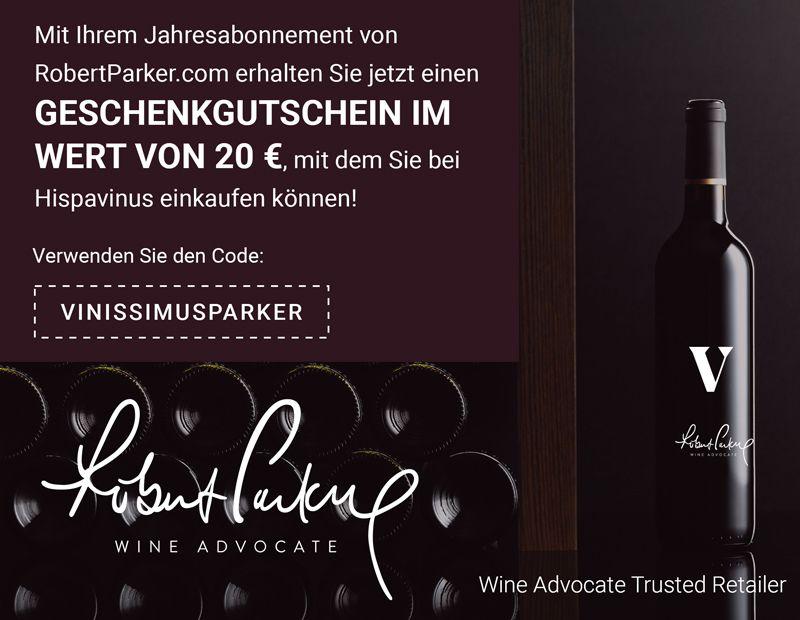 Abonnement von Robert Parker Wine Advocate