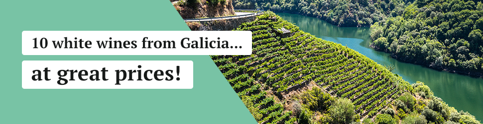 10 white wines from Galicia at great prices