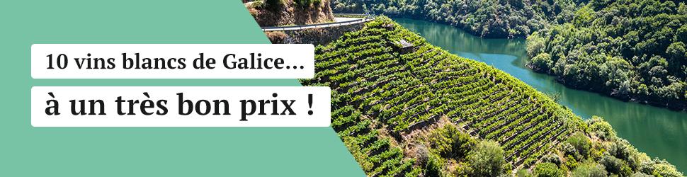 10 vins blancs de Galice à bon prix