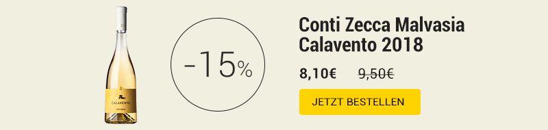 Conti Zecca Malvasia Calavento 2018