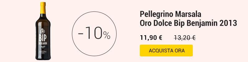 Pellegrino Marsala Oro Dolce Bip Benjamin 2013