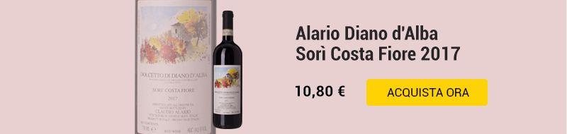 Alario Diano d'Alba Sorì Costa Fiore 2017