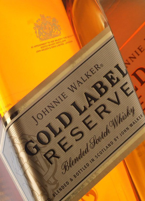 how to drink gold label reserve