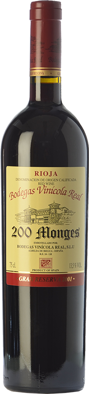 200 Reserva 2004 Gran Tinto Monges Vino Comprar vnN80wm