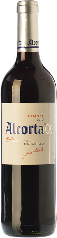 Alcorta crianza 2014 comprar vino tinto crianza rioja - Bodegas alcorta ...