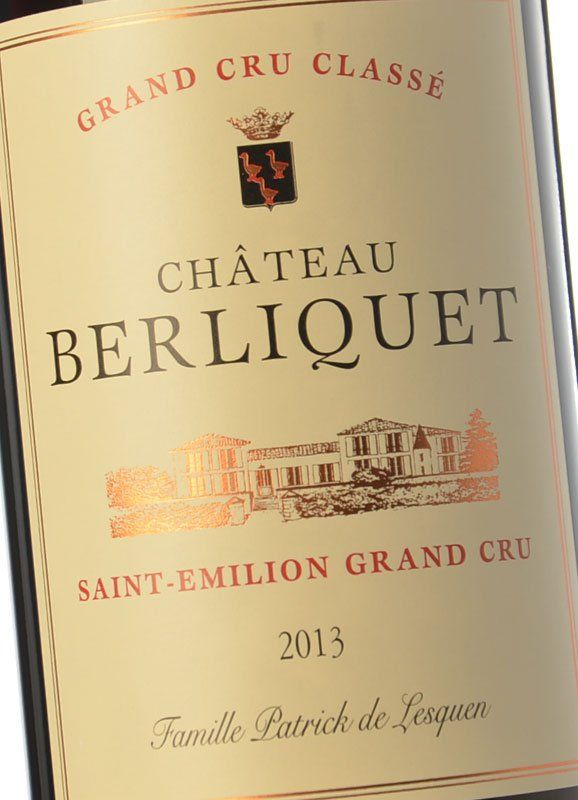 Chateau berliquet 2018