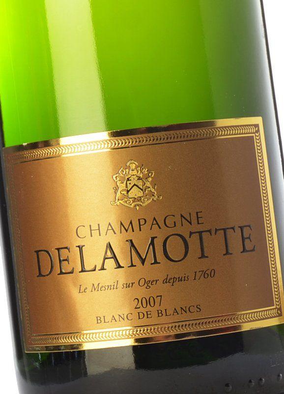 Delamotte brut blanc de blancs 2007 acheter du vin for Champagne lamotte prix