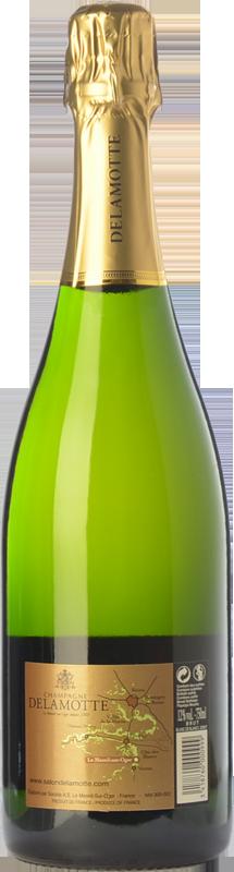 Delamotte brut blanc de blancs 2007 acheter du vin for Champagne delamotte prix