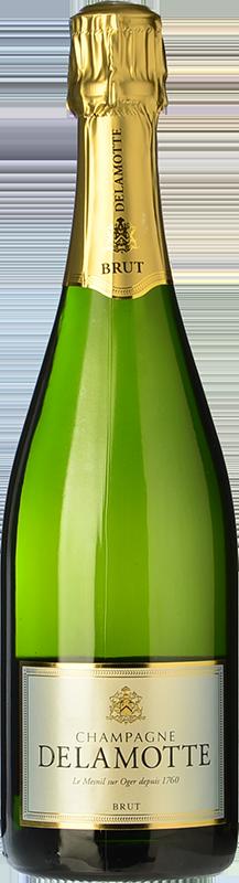 Delamotte brut comprar vino espumoso reserva champagne for Champagne delamotte