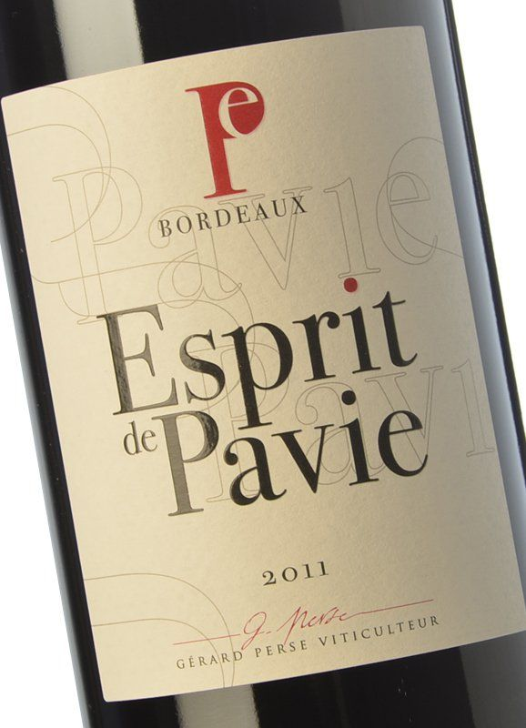 3203b206dc6a Esprit de Pavie 2011 - Buy Red Crianza Wine - Bordeaux - Château Pavie