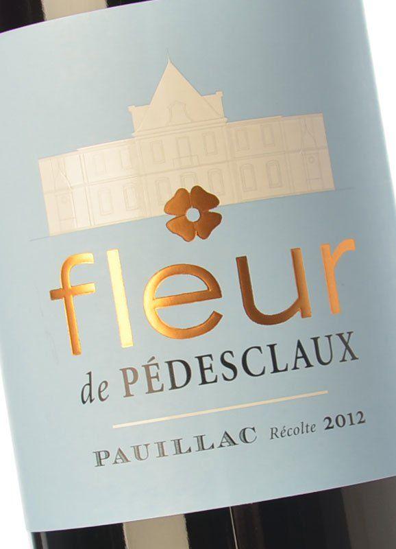 Fleur De Pedesclaux 2015 Buy Red Crianza Wine Pauillac Chateau