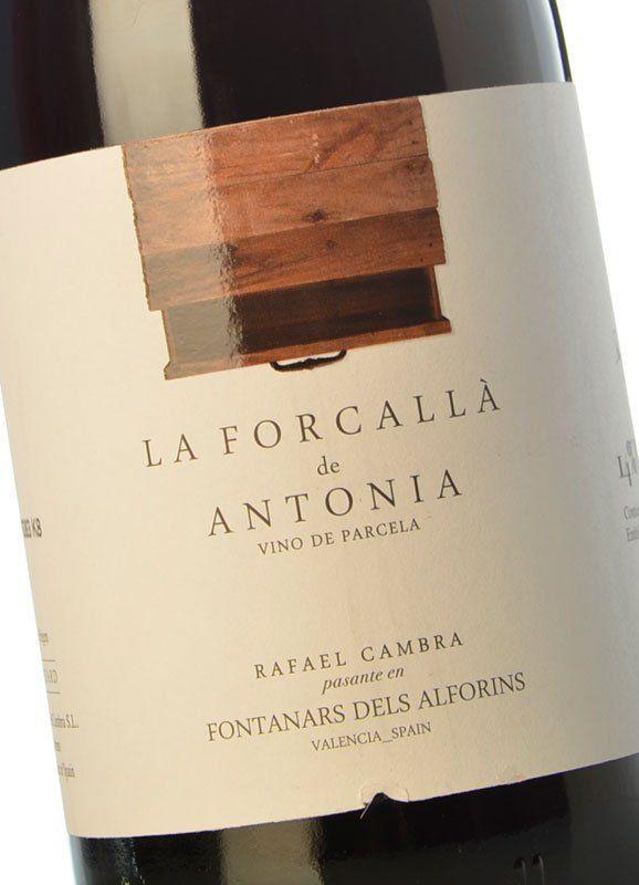 La forcall de antonia 2016 comprar vino tinto joven con - Bodegas de vino en valencia ...