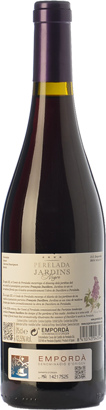 Jardins negre 2016 buy red young wine empord perelada for Grand jardin wine