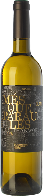 M s que paraules blanc 2016 weisswein im edelstahltank - Mes que paraules tinto ...