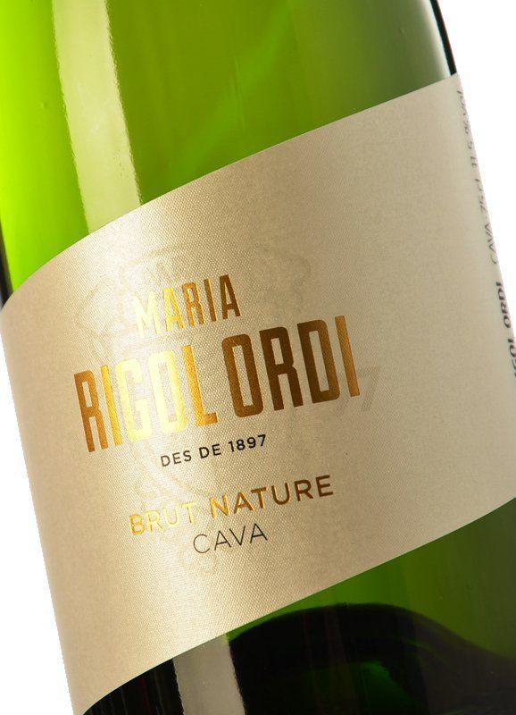 Maria Rigol Ordi Brut Nature 2017 - Buy Sparkling Wine - Cava