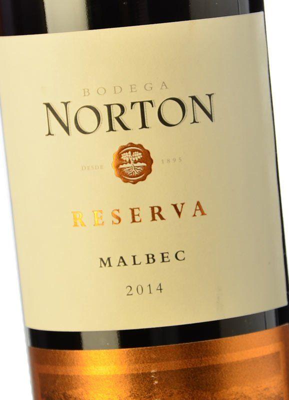 Norton Reserva Malbec 2014