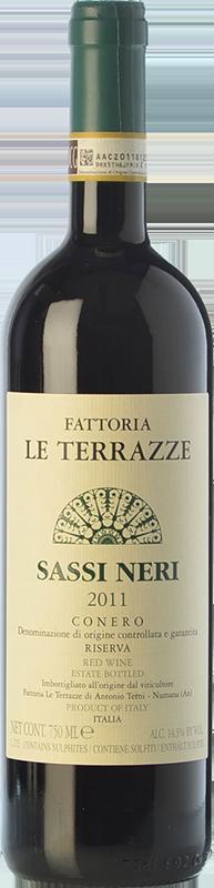 Le Terrazze Rosso Conero Riserva Sassi Neri 2015 - Acquistare vino ...
