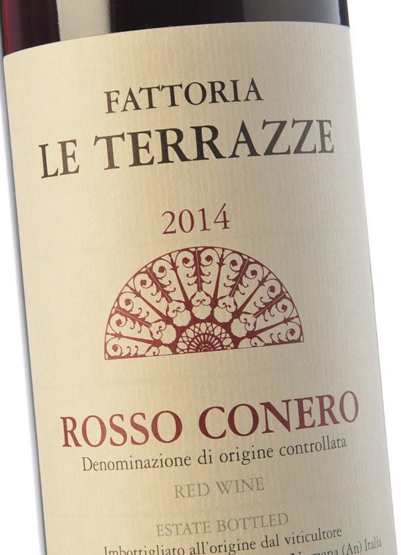 Le Terrazze Rosso Conero 2014 - Rotwein kaufen - Rosso Conero ...