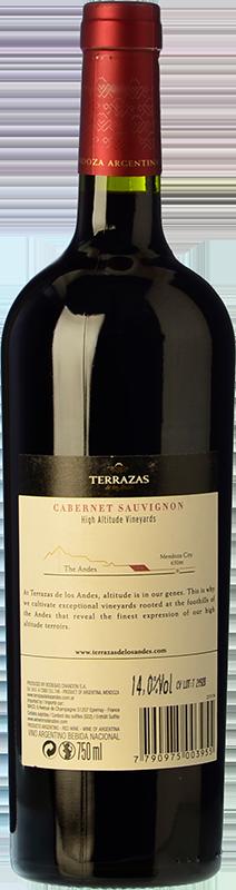Terrazas De Los Andes Reserva 2017 Buy Red Crianza Wine