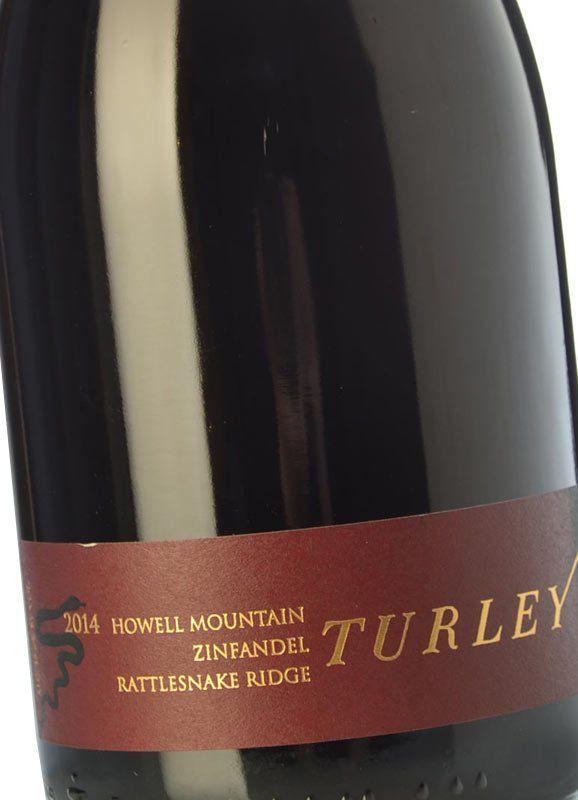 Turley Rattlesnake Ridge Zinfandel 2014 - Buy Red Crianza Wine ...