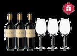 3 Carmelo Rodero Reserva + 3 verres en CADEAU