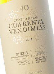 Cuatro Rayas Cuarenta Vendimias 2015 (Magnum)