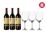 3 Tondonia Reserva + 3 verres en CADEAU
