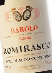 Aldo Conterno Barolo Bussia Romirasco 2014