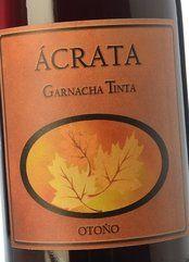 Ácrata Garnacha Tinta 2015 - Otoño