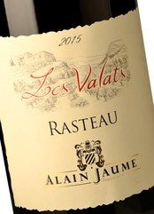 Alain Jaume Rasteau Les Valats 2015