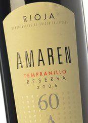Amaren Tempranillo Reserva 2010