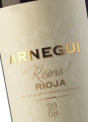 Arnegui Reserva 2014