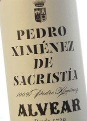 Alvear Sacristía Pedro Ximénez de Añada 2011